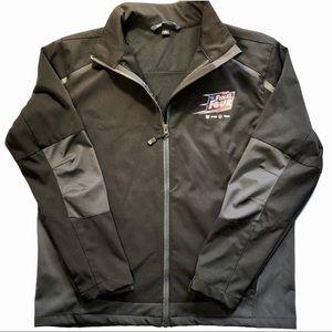 2015 Final Four Full Zip Soft Shell Jacket Black
